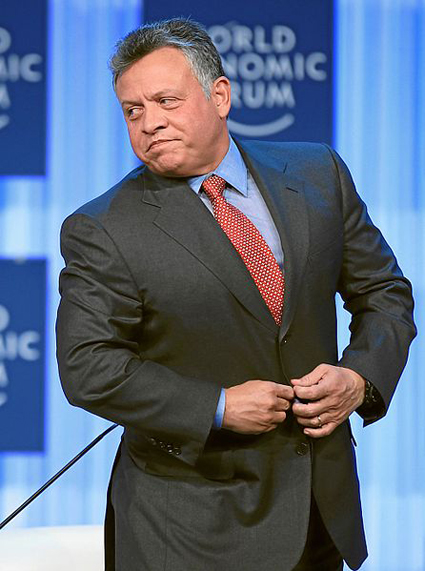 King Abdullah of Jordan