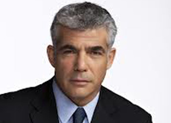 Minister of Finance Yair Lapid.