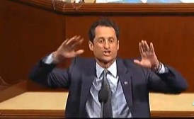 Rep Weiner's Anti-GOP Rant