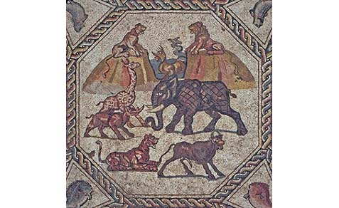 Lod Mosaic, 1,700 years old, is the first official Israeli exhibition at the Louvre