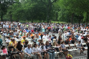 Audience at Israel Day Concert
