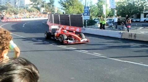Formula 1 car racing