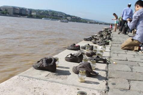 The Shoes At The Danube Promenade