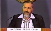 Rabbi Meir Kahane at the National Press Club ~ 1985