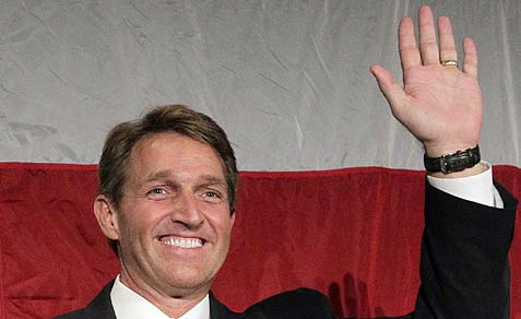 Proud father, Sen. Jeff Flake (Rep. AZ)