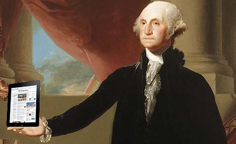 george-washington-ipad
