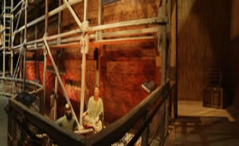 Noah's Ark is under construction again after several thousand years, but this time, it may not be completed.