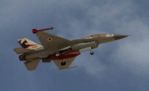 Israel F-16 jet