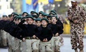 The Hezbollah youth movement in Lebanon.