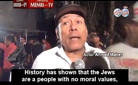 "The image of the Jew in the Ramadan TV show ""Khaybar"" are treacherous, hateful of the other, scheming, and corrupt."