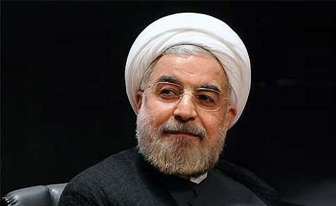 "with very little to offer his people in the way of good news from the front, Iranian president-elect Hassan Rohani is attacking the good old Zionist regime, ""Little Satan."""