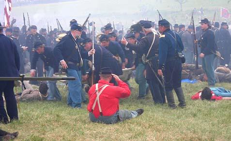 civil war reenactment 1