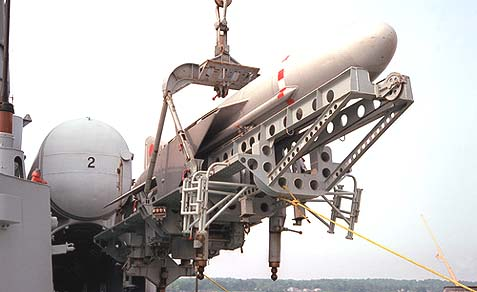 A Russian anti-ship missile.