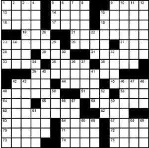Crossword-Airlines