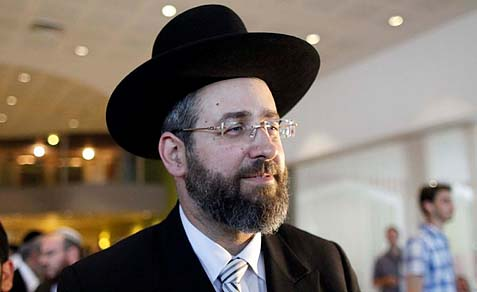 Rabbi David Lau has a reputation of a nice guy, popular with the residents of his town of Modi'in, both religious and secular. Now it appears that to get his job as Chief rabbi he made a deal with some extremist Haredi forces.