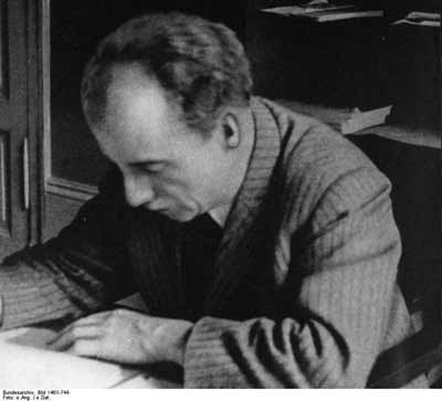 Professor Kurt Huber of the Holocaust resistance group White Rose. (German Federal Archives)