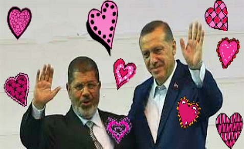 Turkish Prime Minister Erdogan was very close with ousted Egptian President Morsi
