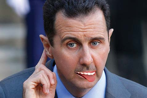Bashar al-Assad's notorious incompetence means his response cannot be anticipated.