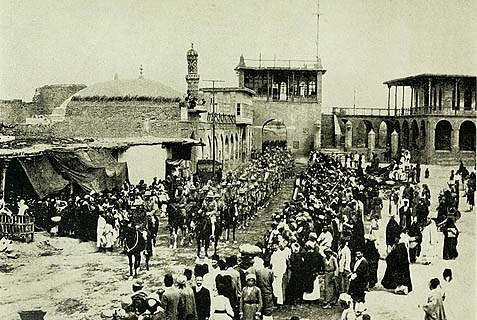 General Maude's entry into Baghdad, March 11, 1917.