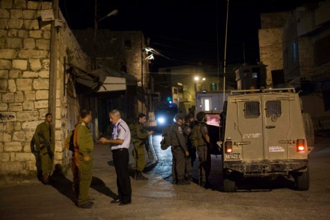 .IDF Soldiers in Hebron