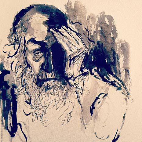 Hisbonenus (Meditation), by   Musya Herzog