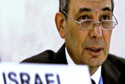 Israel's representative to the United Nations Human Rights Council, Eviatar Manor