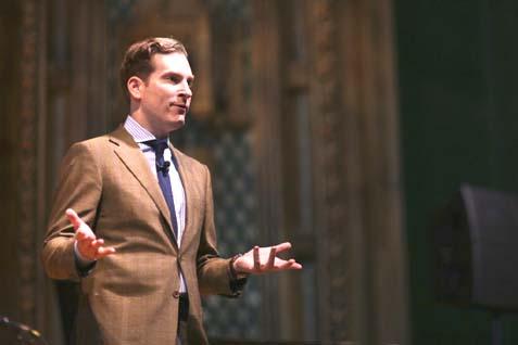 American author and professor of law at Harvard Law School Noah Feldman.