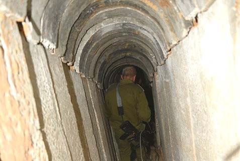 The terror tunnel
