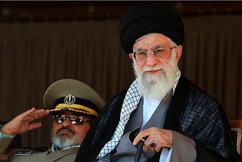 Supreme Leader of the Islamic Revolution Ayatollah Seyed Ali Khamenei supports President Hassan Rouhani's diplomatic rapprochement with President Barack Obama, but says the U.S. president is not trustworthy.