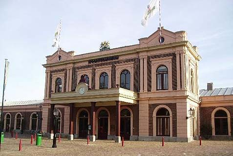 The Dutch Railway Museum in Utrecht.