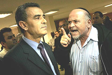 MK David Tal (KADIMA) rebuking MK Jamal Zahalka (BALAD) back in 2009.
