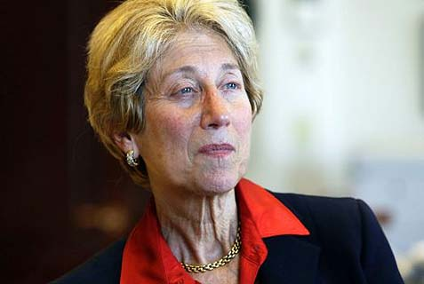 Judge Shira Scheindlin was taken out to the woodshed by the federal court.
