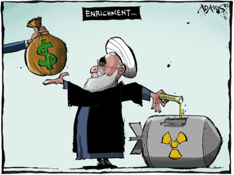 Negotiations, Iranian style.