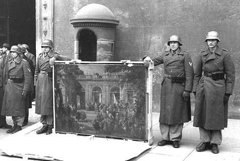 Italien, Überführung von Kunstschätzen