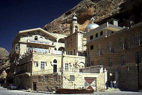 Islamist jihadists raided this convent in the village of Maalula in Syria and abducted 12 Greek Orthodox nuns. Lebanese Christians was Turkey to do something about it.