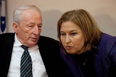 AG Weinstein and Justice Minister Livni both object to the new MK Shaked bill. Livni intends to appeal the ministerial committee's vote, and Weinstein may opt not to defend it.