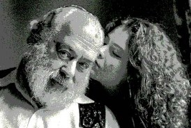 Neshama and her father, Rabbi Shlomo Carlebach. Shlomo would never have declared his move from Orthodox to Reform, because he was never Orthodox. He never belonged.