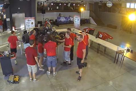 Technion Formula Race Car Takes First Place