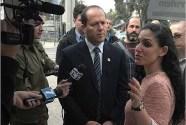 Jerusalem Mayor Nir Barkat apologized to the protesters against murderer release..