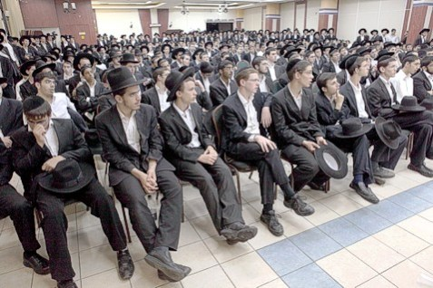 Illustrative Photo: Yeshiva Bochrim (Students)