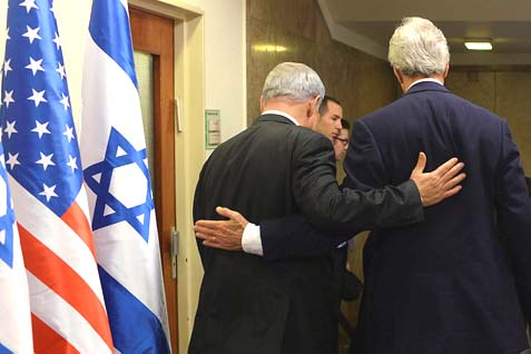 On Secretary Kerry's 12th visit to the region, he will face some harsh backbiting, albeit underhanded, from Prime Minister Netanyahu. It's already starting, and it ain't pretty.