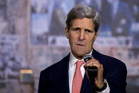 U.S. Secretary of State John Kerry .