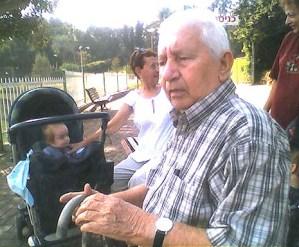 My father, Monik Yanover ZL