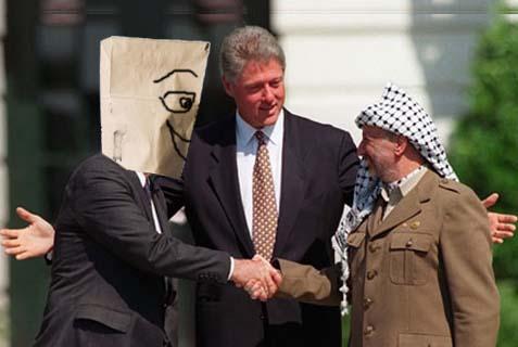 rabin + arafat