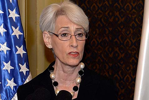 Undersecretary of State Wendy Sherman.