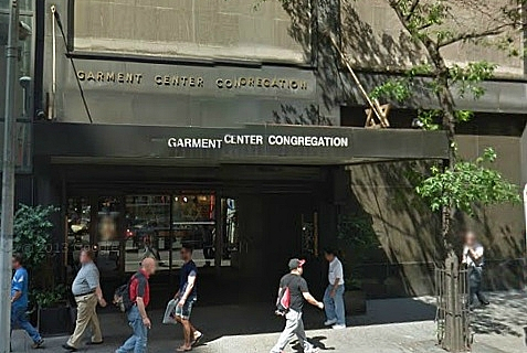 The Garment Center Congregation, an Orthodox synagogue in Mid-town Manhattan, was founded in 1931 to serve Jewish workers in the shmatte industry