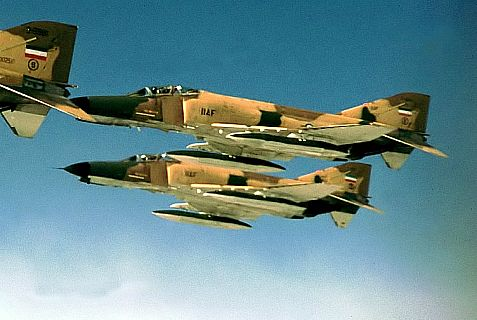 Iranian F-4 Phantom jets.
