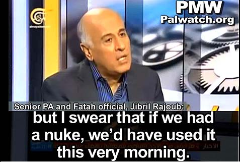 PA's soccer chief Jibril Rajoub, a member of the Fatah Central Committee.