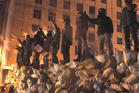 Riots in Kiev, February 2014
