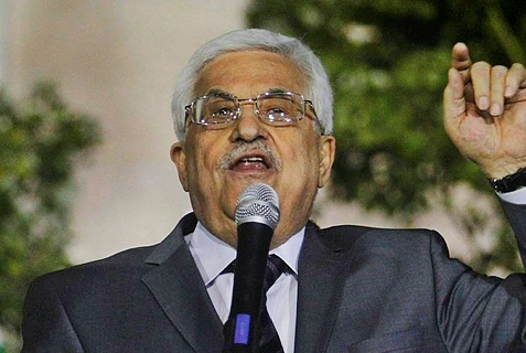 Mahmoud Abbas, acting leader of the Palestinian Authority